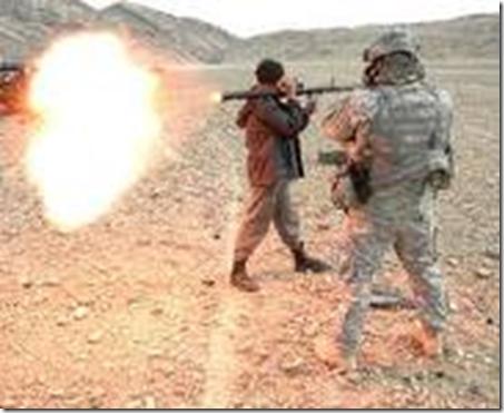 Afghanistan rocket