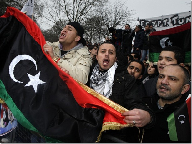 66857-demonstrators-protest-against-libyas-muammar-gaddafi-outside-the-libya